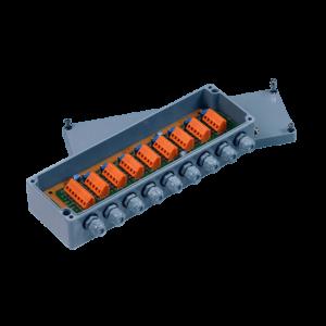 Соединительная балансировочная коробка utilcell на 8 тензодатчиков